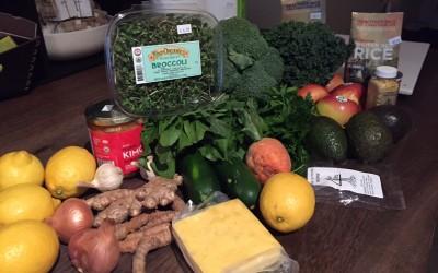 Organic Groceries 2 weeks $153.35