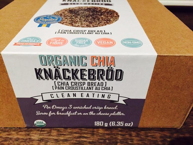 Organic Chia Knackebrod (Chia Crisp Bread)