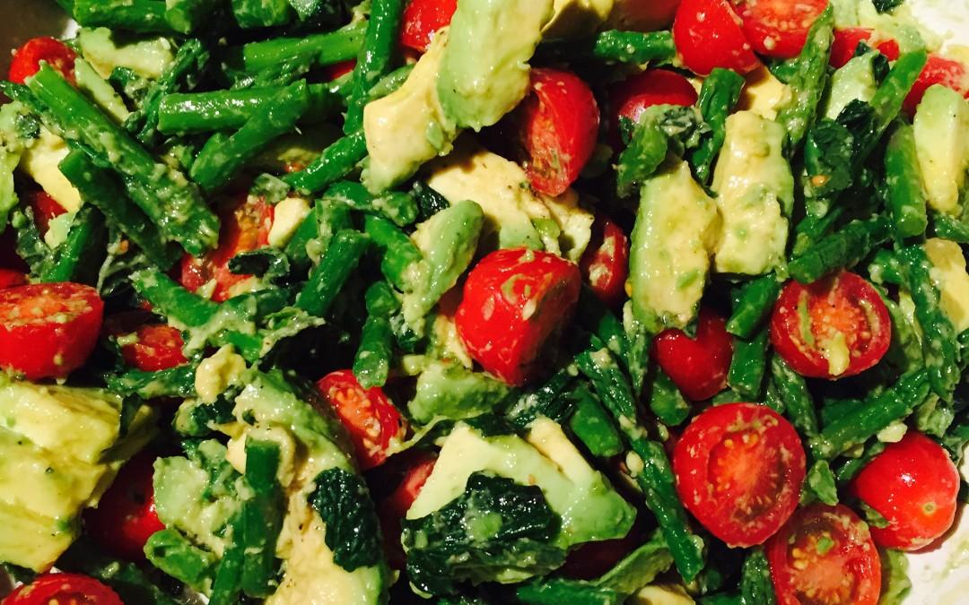 Asparagus, Avocado & Tomato Salad